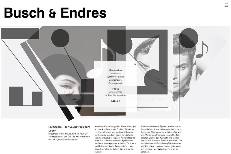 Busch & Endres GmbH Website